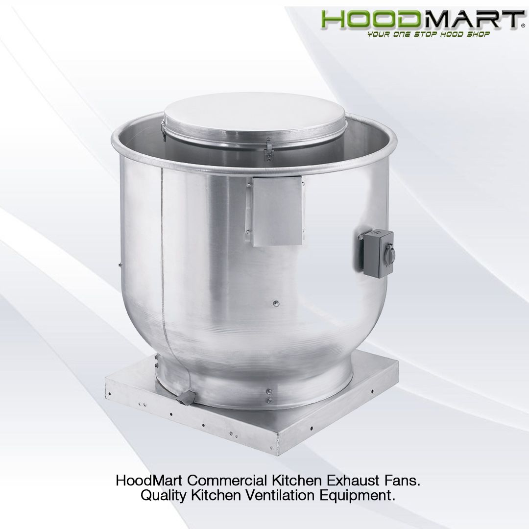 Hoodmart Exhaust Fans Are Constructed With Heavy Gauge Aluminum And