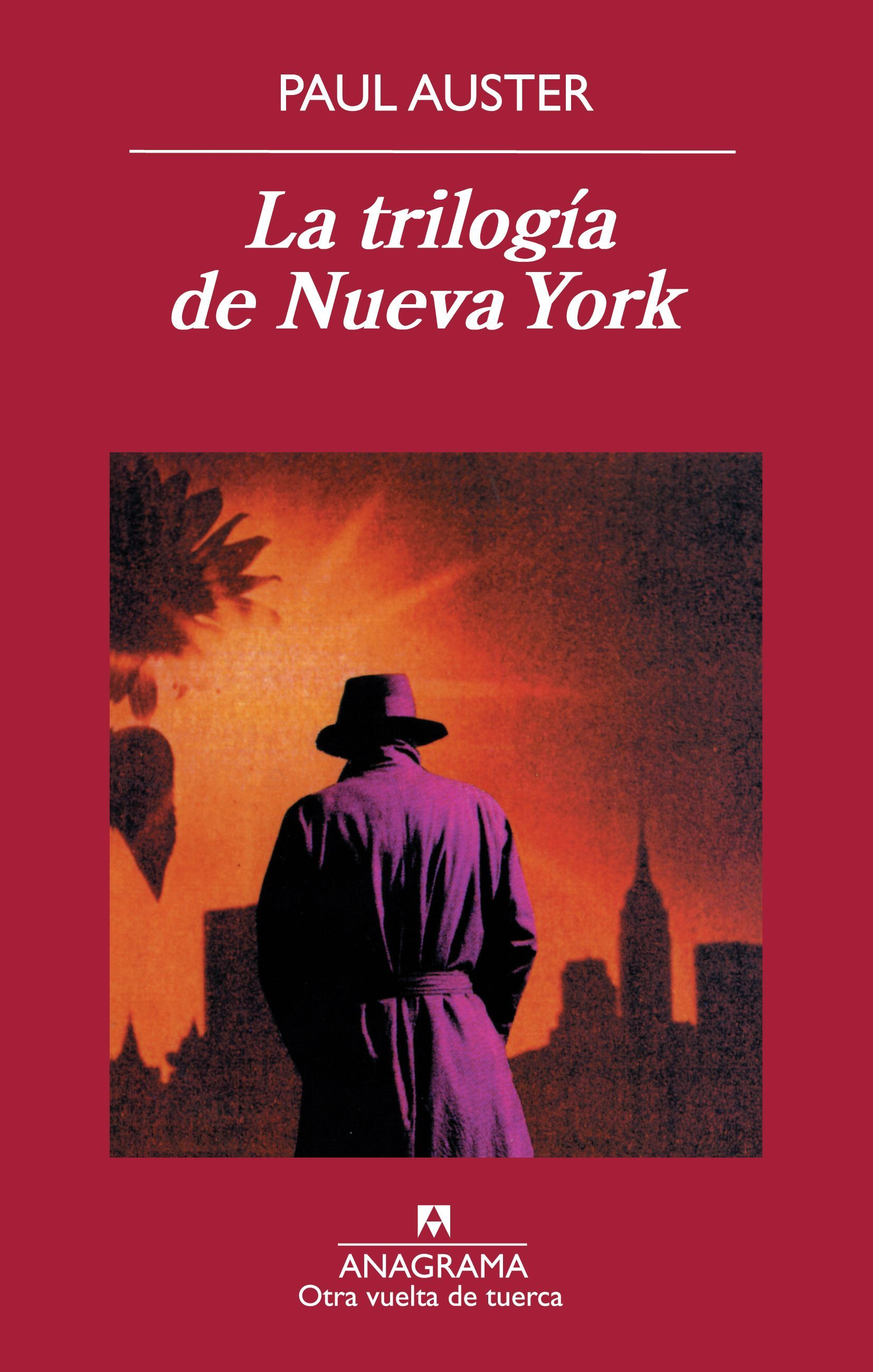 Paul Auster La Trilogía De Nueva York Paul Auster Book Worth Reading Back Of My Hand