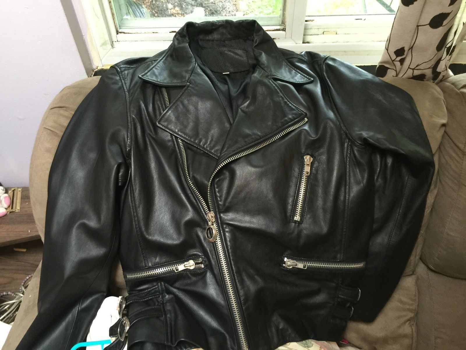 6fce9bc79186 King Baby Studio Custom Moto Leather Jacket