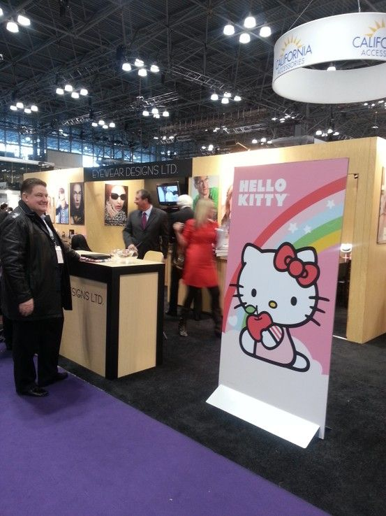 beaeef6019 Eyewear Designs Ltd  Hello Kitty  at Vision Expo.