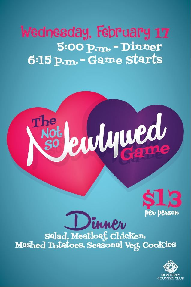 Not so Newlywed Game event flyer template Adult Events - event flyer