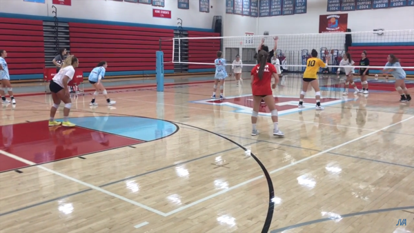 Volleyball Tip Of The Week Eclipse Wash Drill Volleyball Volleyball Serve Volleyball Practice
