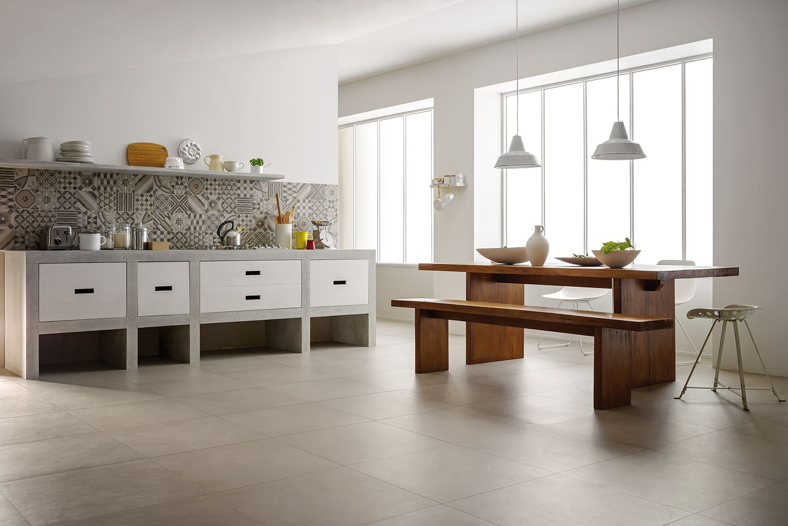 Block - porcelain stoneware floor and wall tiles | Marazzi | archi ...