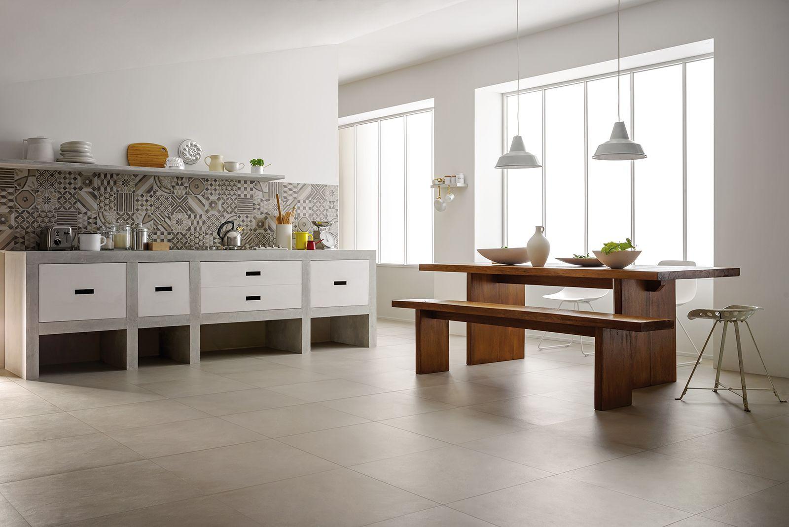 Block - Pavimentos en gres porcelánico | Marazzi | Cocina ...