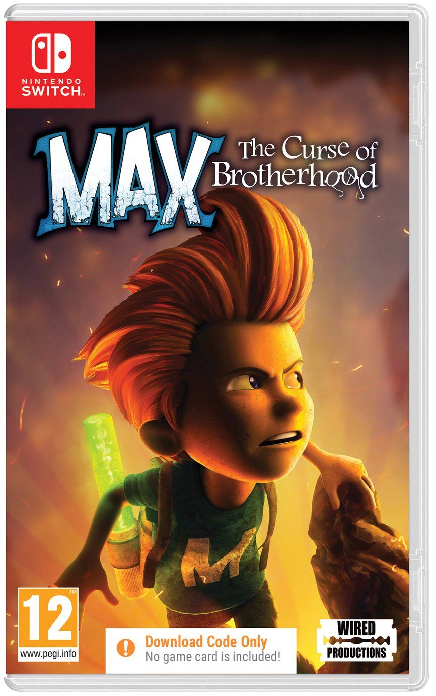 Buy Max Curse of the Brotherhood Nintendo Switch Game