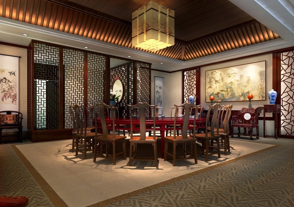 Pin by chan angus on chinese restaurant in 2019 - Chinese restaurant interior pictures ...