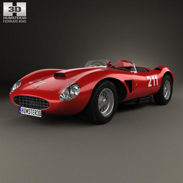 3d model of 625 trc 1957 car