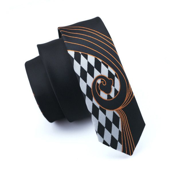 Men ties silk skinny ties for men narrow slim tie novelty black if you need more ties these winkles can be removed very easy using steam iron of low temperature with wet towel above the tie ccuart Image collections