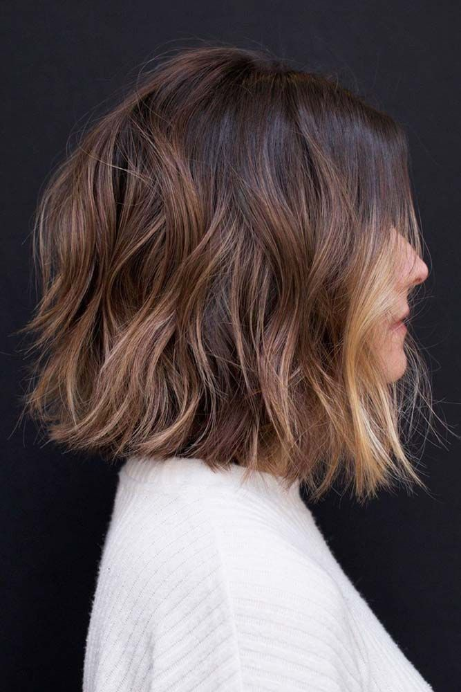 Shoulder Length Shag Haircuts Faceshape There Are A Ton Of Cute Haircuts For Heart Shaped Faces To Cho Hair Styles Thick Hair Styles Medium Bob Hairstyles