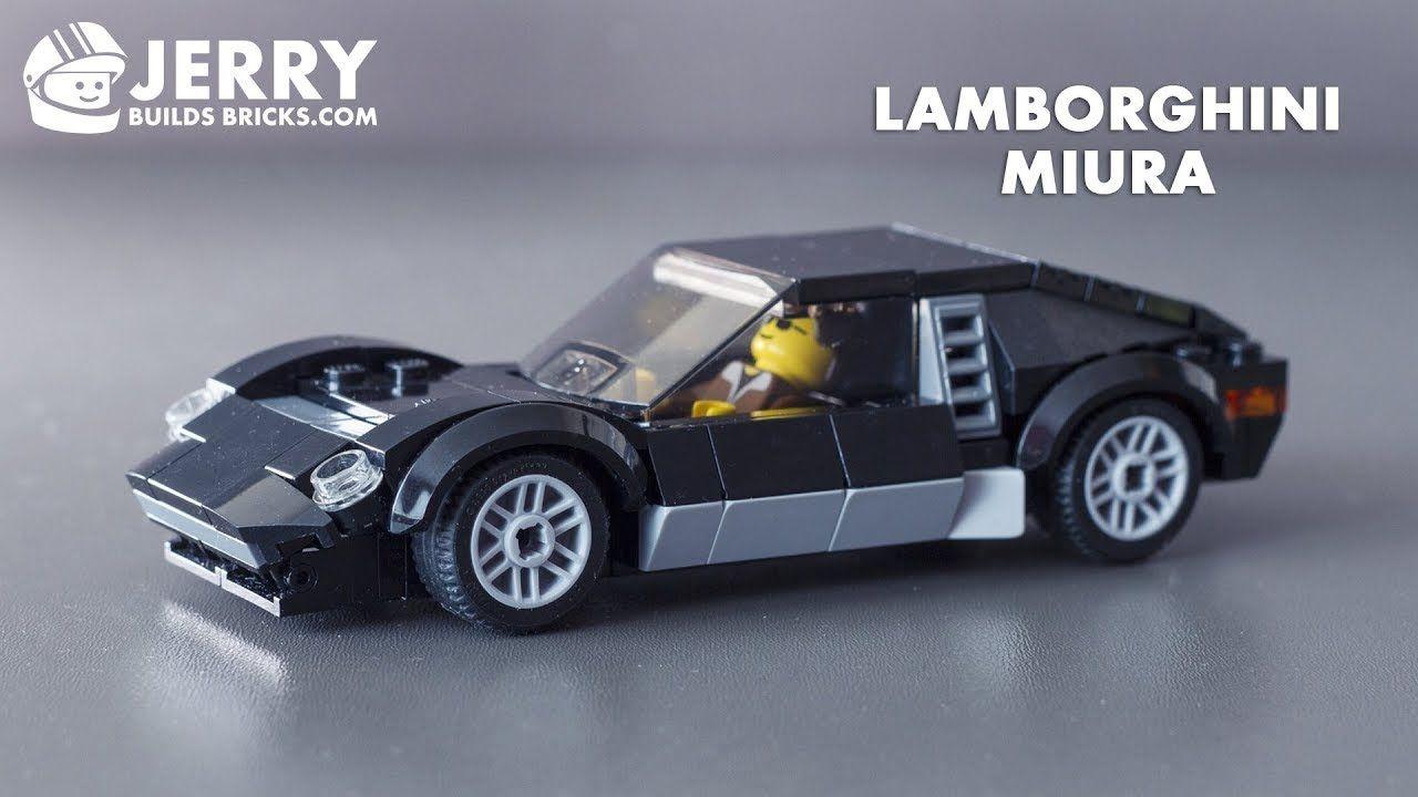 Lego Lamborghini Miura Instructions Moc 48 Lamborghini Miura Lamborghini Lego Cars