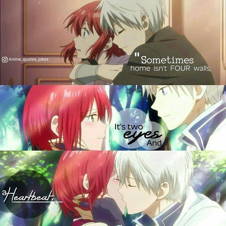 Snow White With Red Hair Akagami No Shiryukhi Zen Anime Quotes Animequotes Snow White With The Red Hair Anime Red Hair