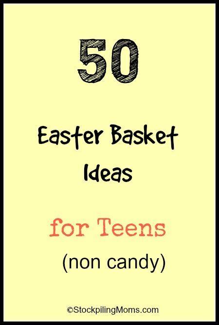 50 Easter Basket Ideas For Teens Basket Ideas Easter