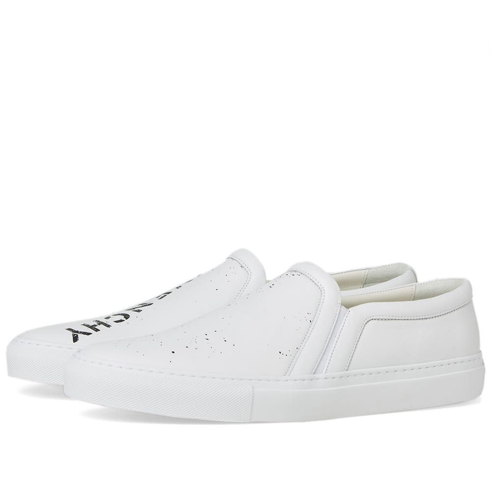 GIVENCHY GIVENCHY STENCIL URBAN SLIP ON SNEAKER. #givenchy