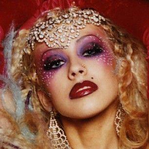Xtina Christinaaguilera Me In Drag Lol Christina Aguilera Pinterest Showgirls Make Up