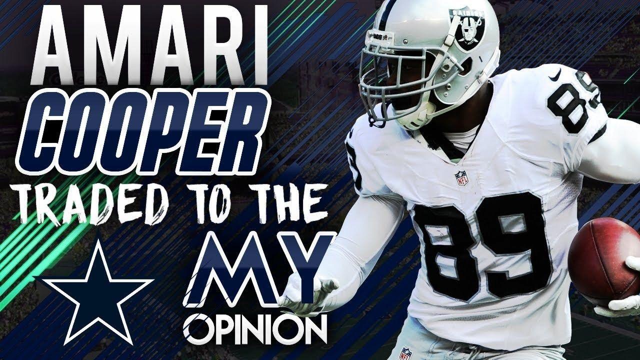 bad809c08 Oakland Raiders Trade Amari Cooper to Dallas Cowboys!  via