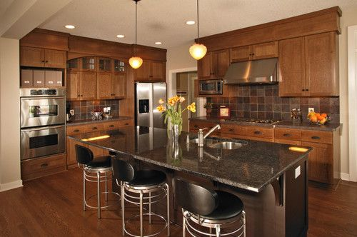 kitchen cabinets ideas » kitchen cabinet and floor color