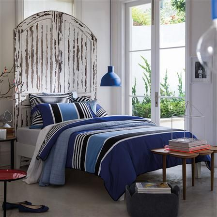 sheridan linge de lit Set de funda nórdica cobalto Rafferty de Sheridan, king | Lencería  sheridan linge de lit