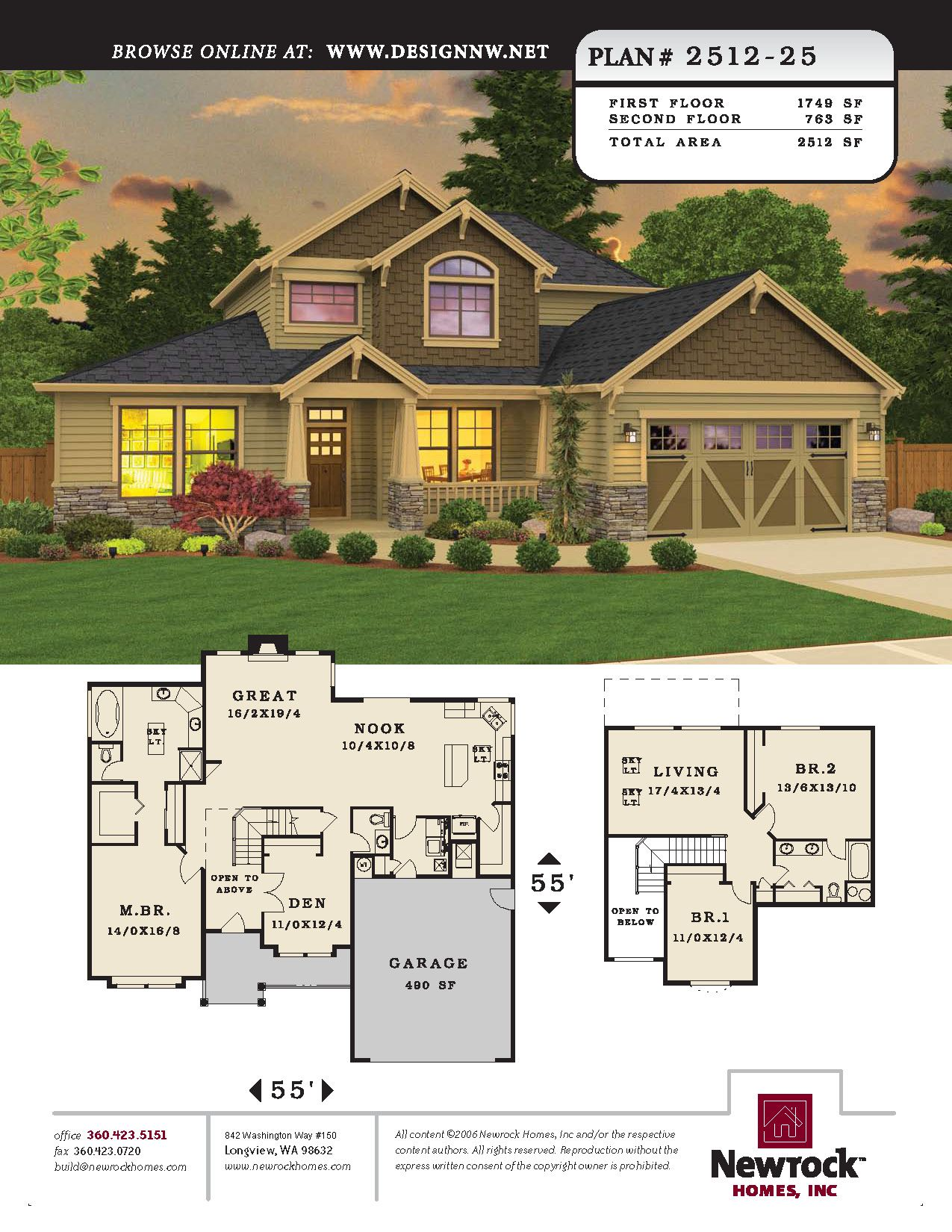 Newrock Homes Plan 2512 25 Newrock Homes House Blueprints Dream House Plans How To Plan