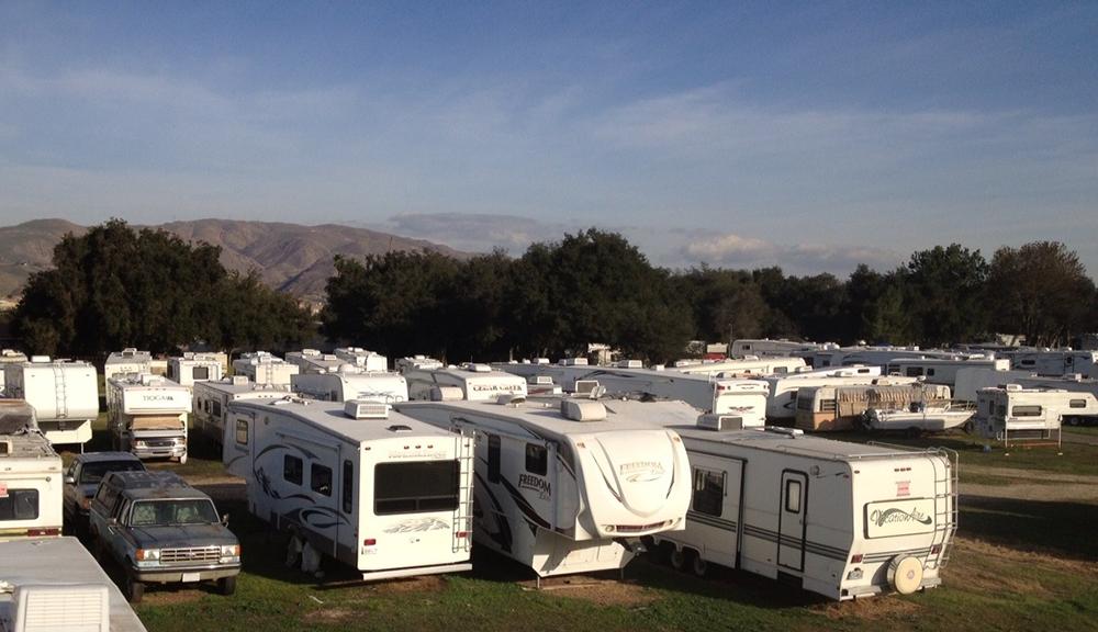 Glen Ivy RV Park At Corona CA