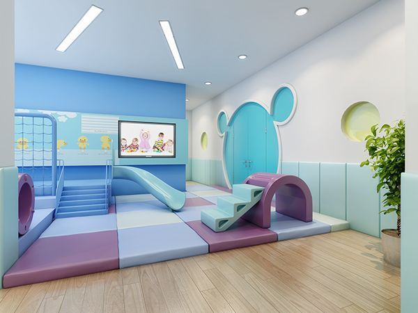 This is a high quality preschool interior design for 0-6years kids