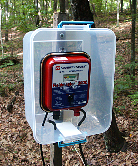 The Electric Fence Charger Weather Protection Pasture