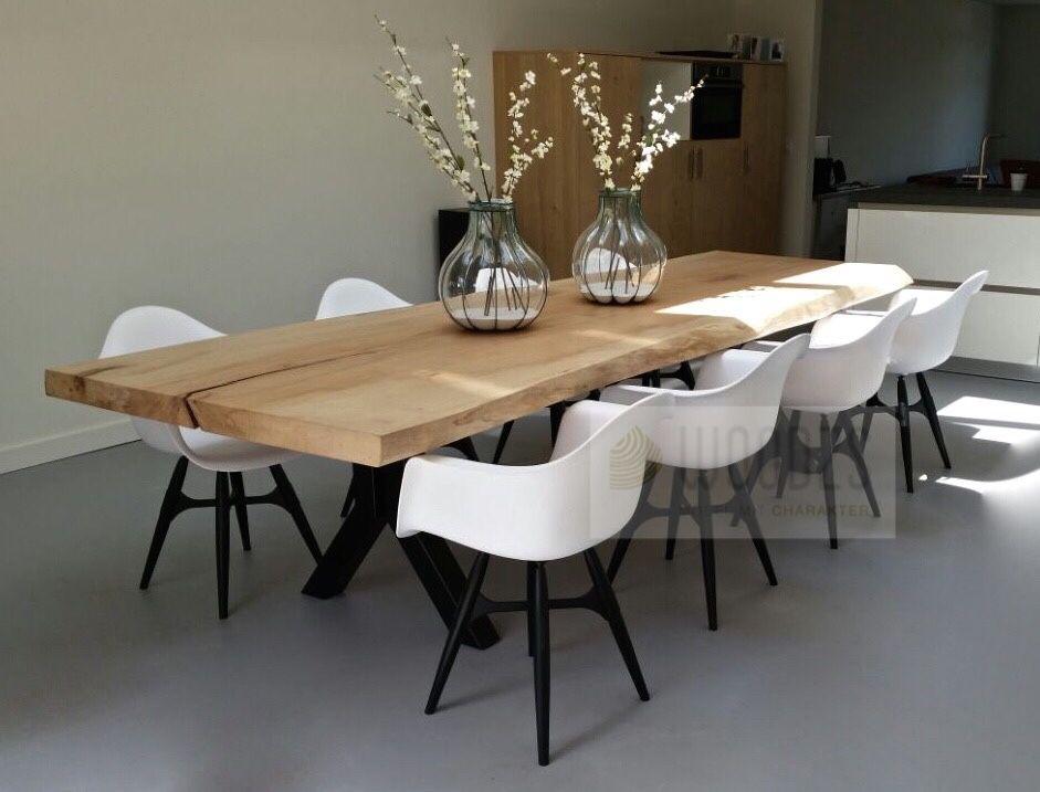eiche baumstammtisch aus einem st ck eiche komplet nach w nsch erh ltlich bei. Black Bedroom Furniture Sets. Home Design Ideas