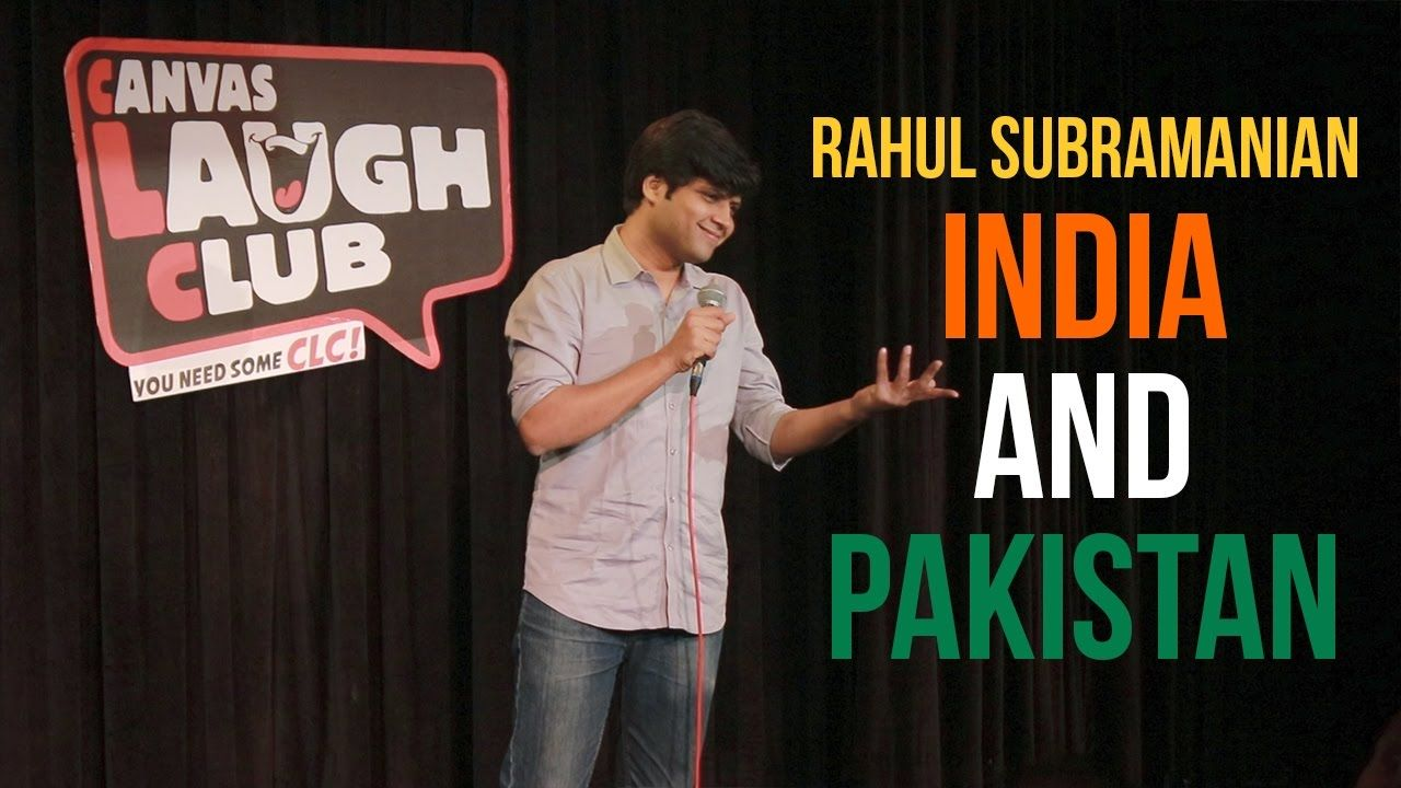 India and Pakistan Stand up Comedy by Rahul Subramanian
