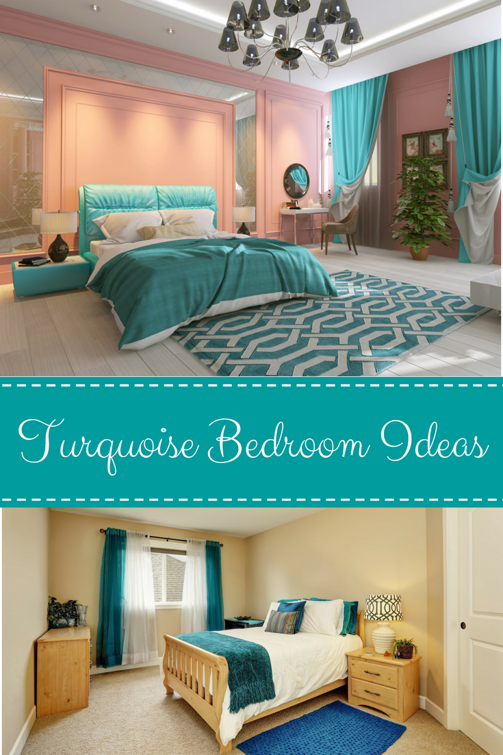 Turquoise bedroom decor ideas that i love