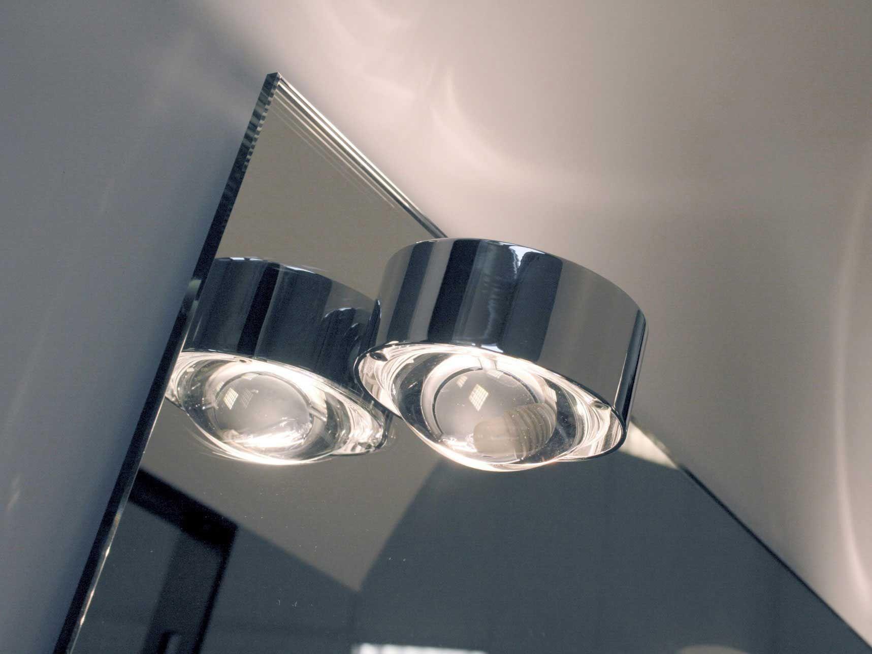 Led Badezimmerleuchte ~ Spiegeleinbauleuchte puk mirror badezimmerleuchte top light
