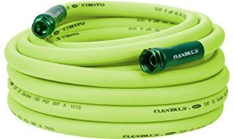 "Legacy HFZG550YW Flexzilla 5/8"" x 50' Hybrid Garden Hose with 3/4"" GHT Ends (Drinking Water Safe)"