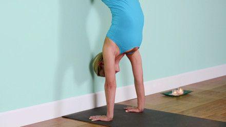 handstand basics practice  grokker  yoga poses for