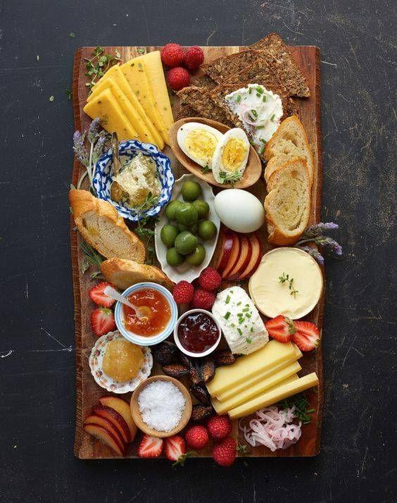 Scandinavian Breakfast Ideas Domino Brunch Recipes Breakfast Party Breakfast Platter