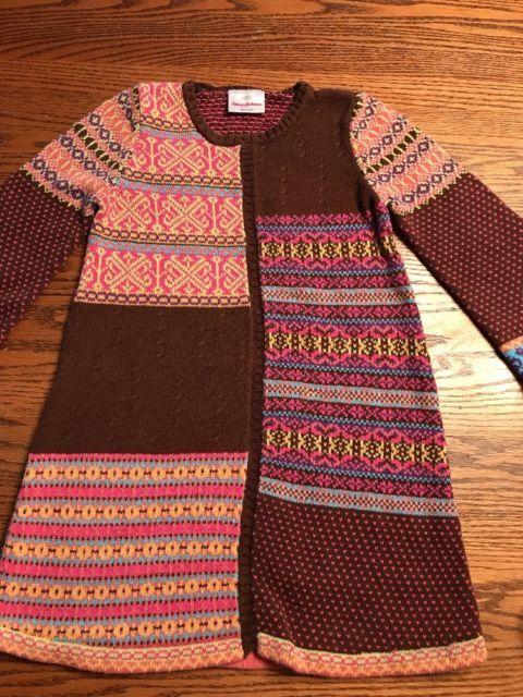 Hanna Andersson Girls Size 110, 5 Fair Isle Sweater Dress .99 ...