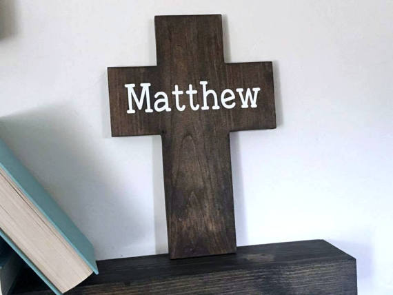 Personalized name cross baptism cross easter gifts wood personalized name cross baptism cross easter gifts wood cross cross decor christian wall art name cross gallery wall negle Images