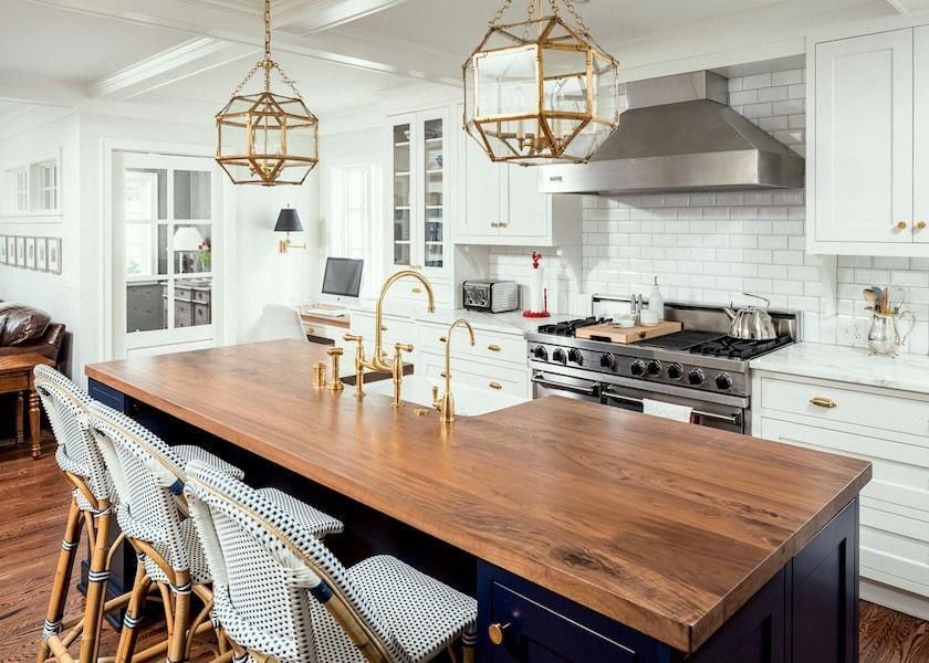 young family classic white kitchen  home remodeling