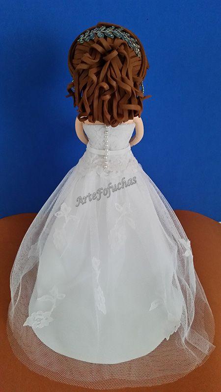 Peinados novias fofuchas