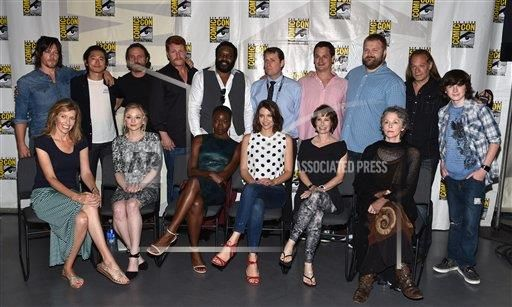 """inVision John Shearer/Invision/AP a ENT CPAENT CA USA INVL AMC's """"The Walking Dead"""" Comic-Con 2014"""