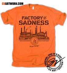 Cleveland Factory Of Sadness shirt