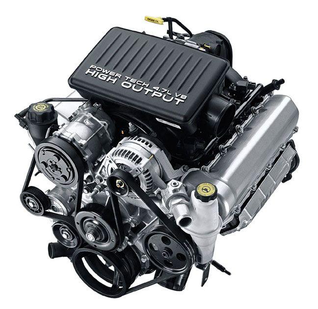 4 7l V8 Ho Engine Dodge Cols Moteur
