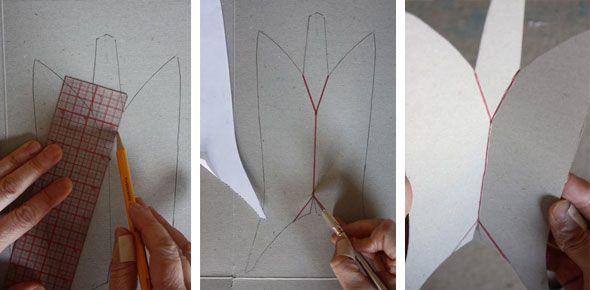 paper mache boat instructions