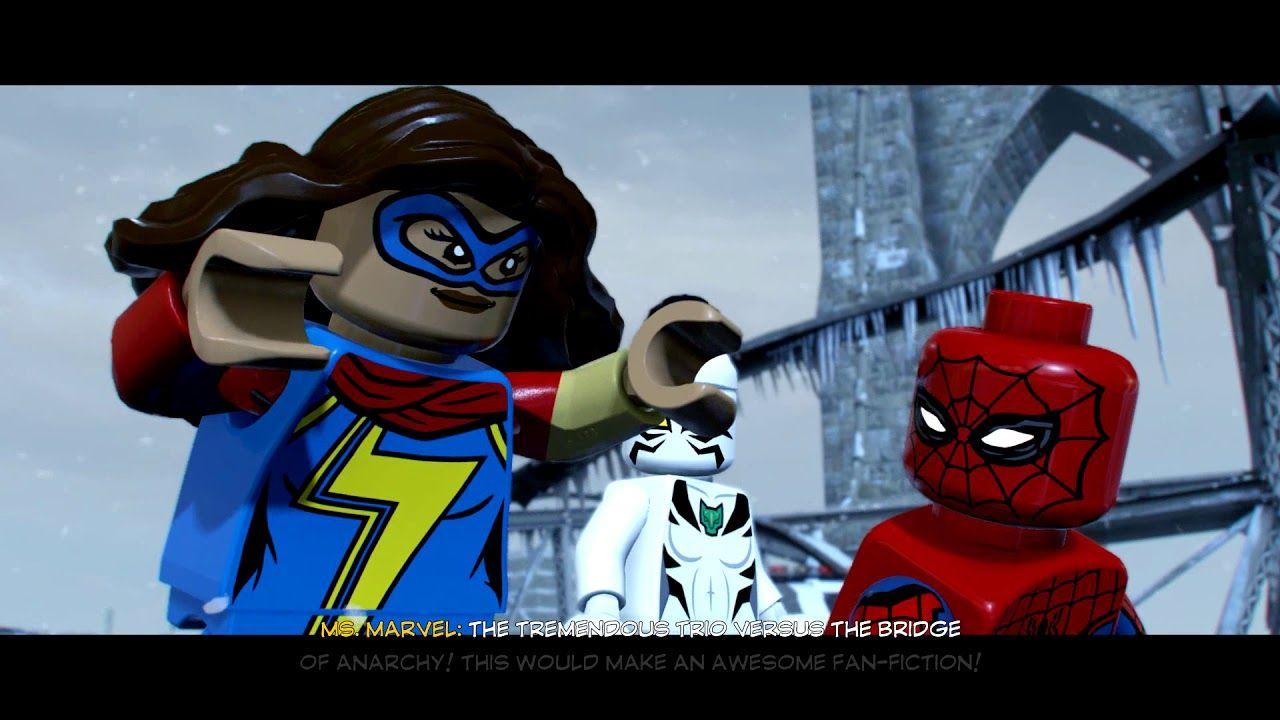Lego Marvel Super Heroes Cutscene — Totoku