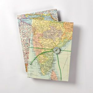 Vintage world map journal world map accessories pinterest vintage world map journal gumiabroncs Gallery