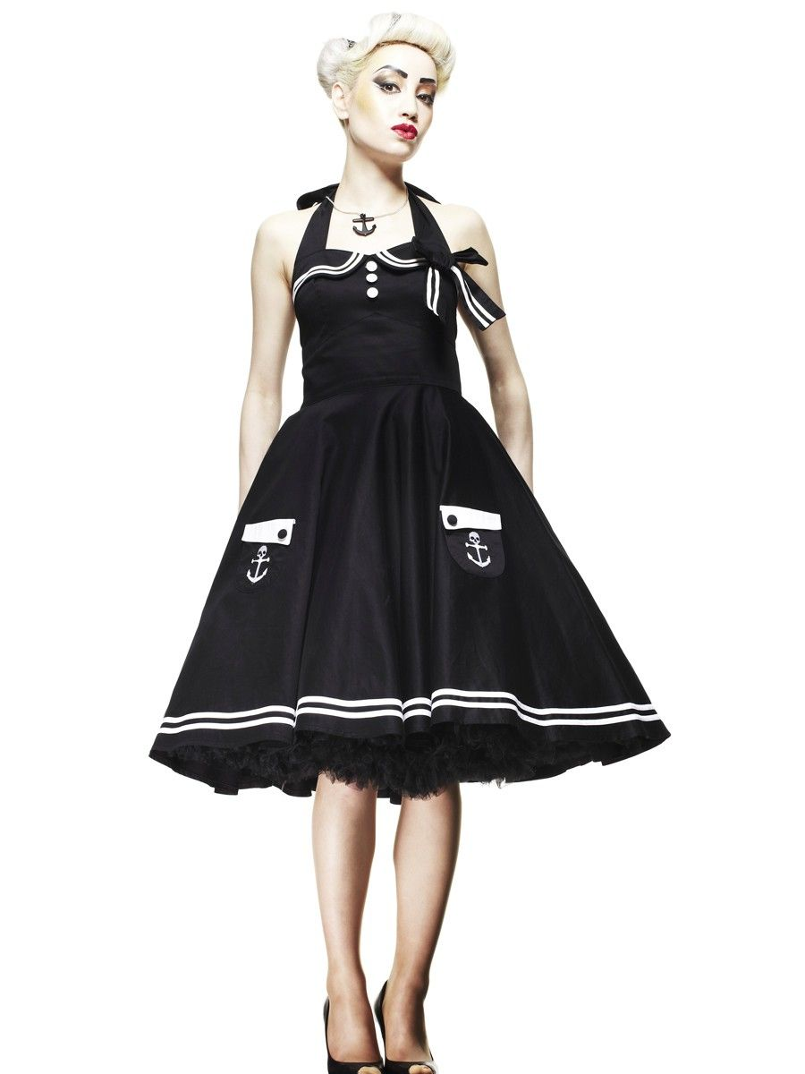 3db1ebc0fa489e HELL BUNNY Motley long - 50s Rockabilly Dress | Flaming Star Shop ...