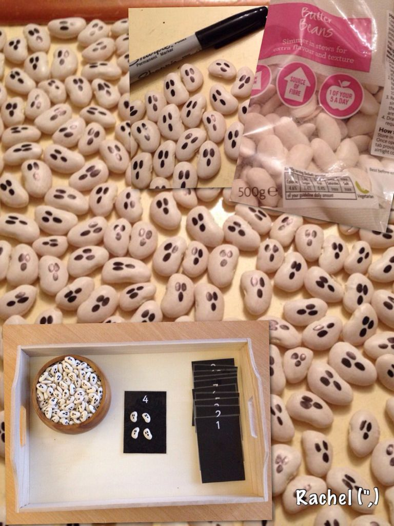 Butter Bean Ghosts from Rachel (,) | Halloween activities