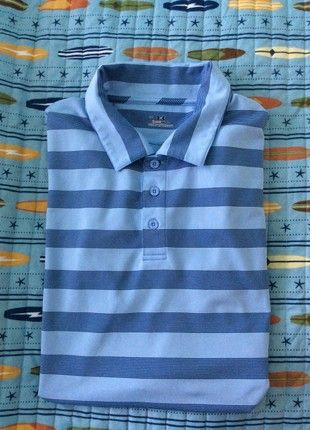 979ddaa0e3d8 Buy my item on  vinted http   www.vinted .com guys polo-shirts 23447048-under-armour-mens-heatg-ar-striped-polo-shirt-size-large