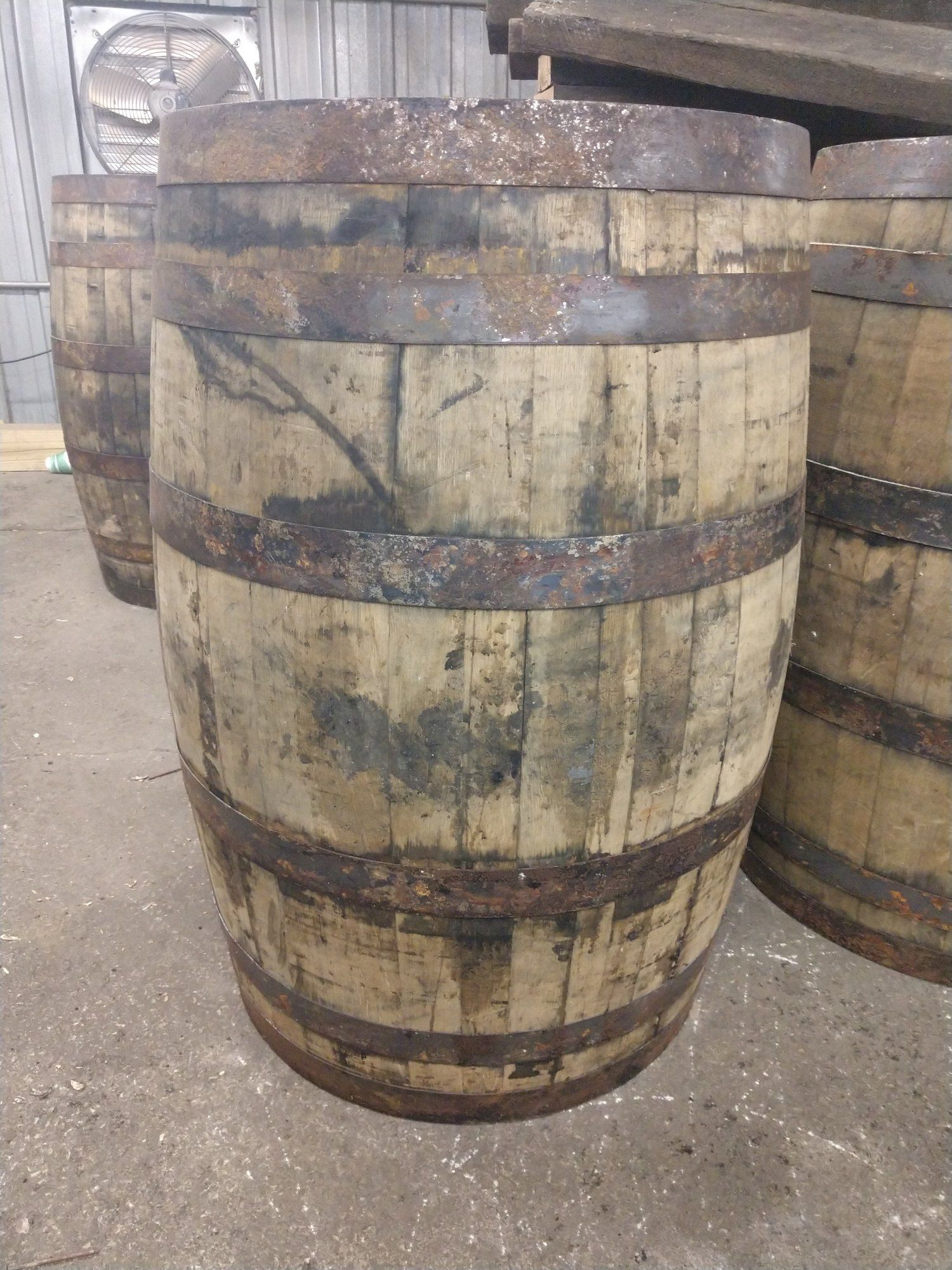 Photo of Whiskey Barrel for Purchase — Baukol's Barrels