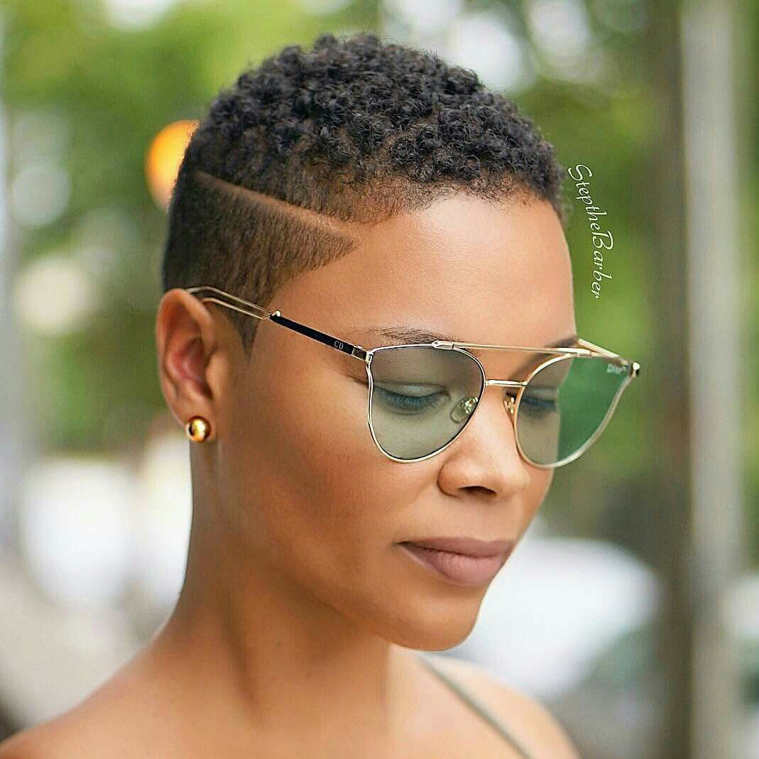 Low Cut Hairstyle