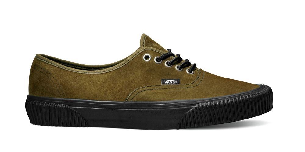 43e362abbc Vans California Collection Holiday 2012  Authentic Hiker CA Suede Pack