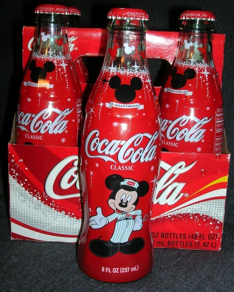 Mickey Mouse 75 years InspEARations Disney Coke Coca Cola Bottle
