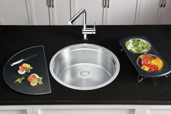 Spülbecken küche rund  Tolle Spülen Designs - 43 tolle Ideen für Ihr Spülbecken ...